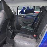 2016 Renault Megane Estate GT rear seat at the 2016 Geneva Motor Show