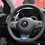 2016 Renault Megane Estate GT steering wheel at the 2016 Geneva Motor Show