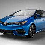 2016 Scion iM front three quarters