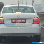 2016 Skoda Rapid (facelift) rear spied