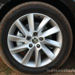 2016 Skoda Superb Laurin & Klement alloy wheel First Drive Review