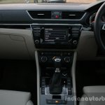 2016 Skoda Superb Laurin & Klement center console First Drive Review