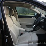 2016 Skoda Superb Laurin & Klement front cabin First Drive Review