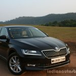 2016 Skoda Superb Laurin & Klement front quarter close First Drive Review