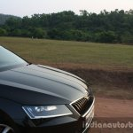 2016 Skoda Superb Laurin & Klement hood First Drive Review