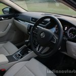 2016 Skoda Superb Laurin & Klement interior First Drive Review
