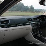 2016 Skoda Superb Laurin & Klement passenger area First Drive Review