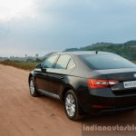 2016 Skoda Superb Laurin & Klement rear quarter far First Drive Review
