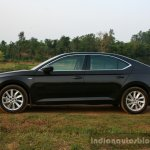 2016 Skoda Superb Laurin & Klement side First Drive Review