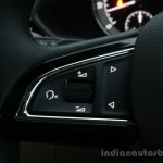 2016 Skoda Superb Laurin & Klement steering buttons First Drive Review