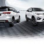 2016 Toyota Fortuner TRD Sportivo exterior