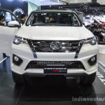 2016 Toyota Fortuner TRD Sportivo front at 2016 BIMS