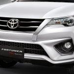 2016 Toyota Fortuner TRD Sportivo front fascia
