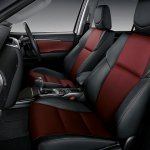 2016 Toyota Fortuner TRD Sportivo front seats