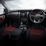 2016 Toyota Fortuner TRD Sportivo interior
