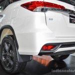 2016 Toyota Fortuner TRD Sportivo rear bumper at 2016 BIMS