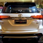 2016 Toyota Fortuner TRD Sportivo rear launched in Thailand