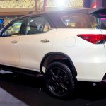 2016 Toyota Fortuner TRD Sportivo rear quarter launched in Thailand