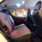 2016 Toyota Fortuner TRD Sportivo rear seats launched in Thailand