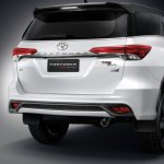 2016 Toyota Fortuner TRD Sportivo rear three quarters