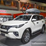 2016 Toyota Fortuner White at 2016 BIMS