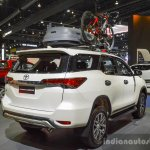 2016 Toyota Fortuner White rear quarter at 2016 BIMS