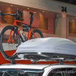 2016 Toyota Fortuner White roof rack at 2016 BIMS