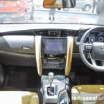 2016 Toyota Fortuner dashboard at 2016 BIMS