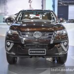 2016 Toyota Fortuner front at 2016 BIMS