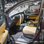 2016 Toyota Fortuner interior at 2016 BIMS