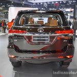 2016 Toyota Fortuner rear at 2016 BIMS