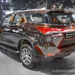 2016 Toyota Fortuner rear quarter at 2016 BIMS