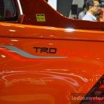 2016 Toyota Hilux Revo TRD Sportivo badge at 2016 BIMS