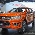 2016 Toyota Hilux Revo TRD Sportivo front right quarter at 2016 BIMS