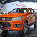 2016 Toyota Hilux Revo TRD Sportivo front right quarter at 2016 BIMS