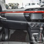 2016 Toyota Hilux Revo TRD Sportivo glove box at 2016 BIMS
