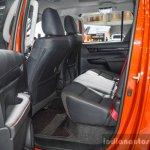 2016 Toyota Hilux Revo TRD Sportivo rear seat at 2016 BIMS