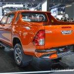 2016 Toyota Hilux Revo TRD Sportivo rear three quarter at 2016 BIMS