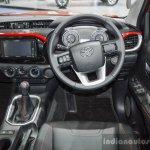 2016 Toyota Hilux Revo TRD Sportivo steering wheel at 2016 BIMS