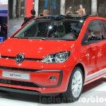 2016 VW Up! beats front quarter at the 2016 Geneva Motor Show