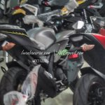 2016 Yamaha R15 grey rear quarter spied in Indonesia