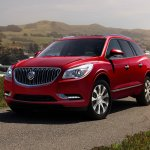 2017 Buick Enclave Sport Touring Edition front three quarters