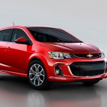 2017 Chevrolet Sonic front three quarters