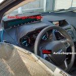 2017 Ford EcoSport interior spy shot