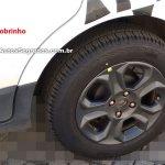 2017 Ford EcoSport wheel spy shot
