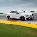 2017 Mercedes CLA front three quarters