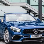 2017 Mercedes SL at 2016 Geneva Motor Show
