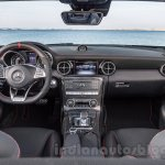 2017 Mercedes SLC43 AMG at 2016 Geneva Motor Show dashboard