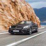 2017 Mercedes SLC43 AMG at 2016 Geneva Motor Show front three quarter