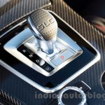 2017 Mercedes SLC43 AMG at 2016 Geneva Motor Show gear selector